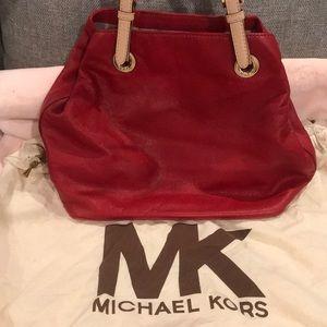 Michael Kohrs red tote